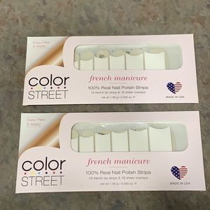 Color Street Meet Me in Paris French Manicure *2*